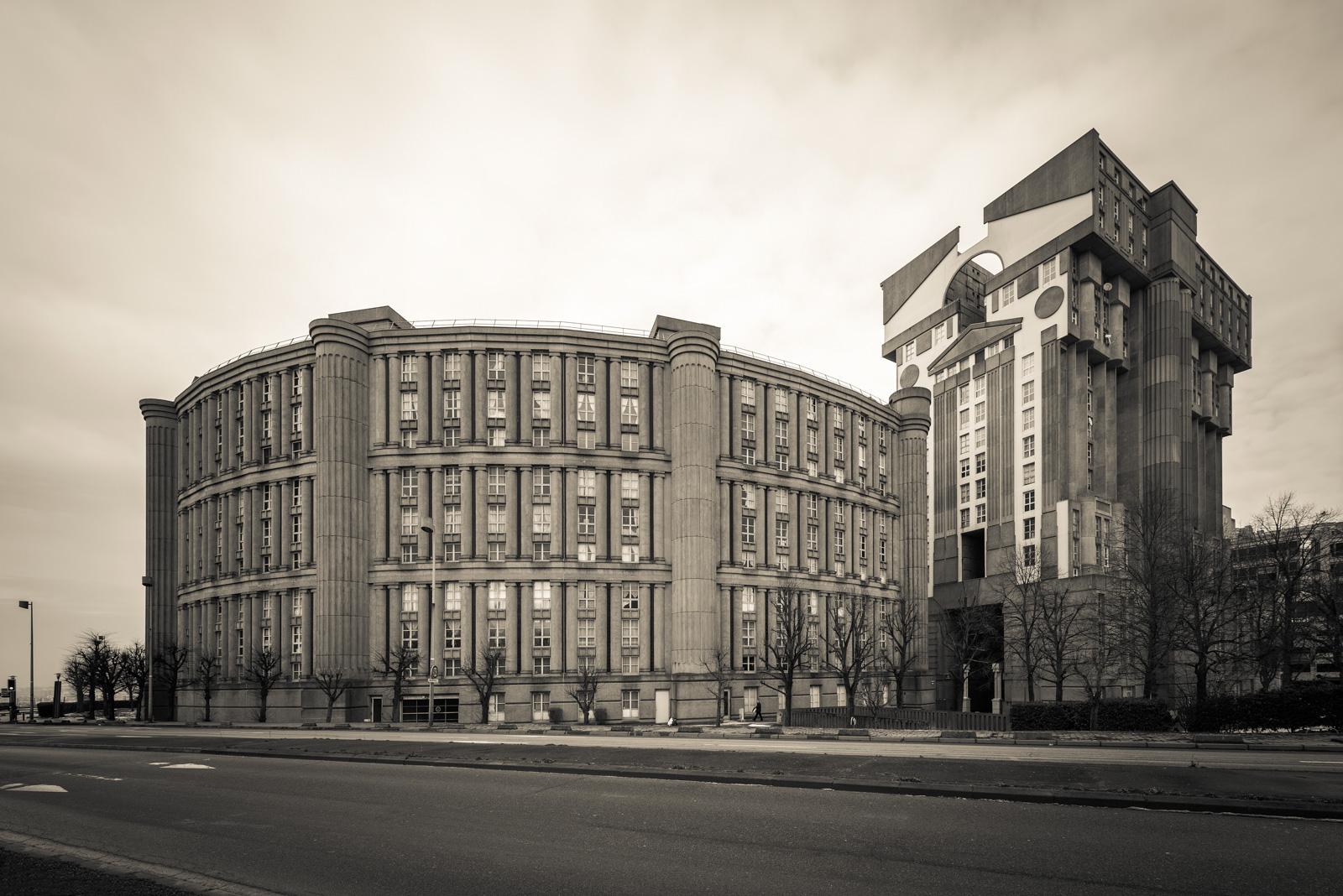 Noisy Le Grand Architecture architecture @ media-tags @ architectural photographer dirk